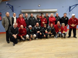 Finale de la coupe du Morbihan des clubs de pétanque à Ploeren
